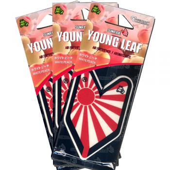 Treefrog Young Leaf Japanese Sunrise - White Peach (3 Pack)