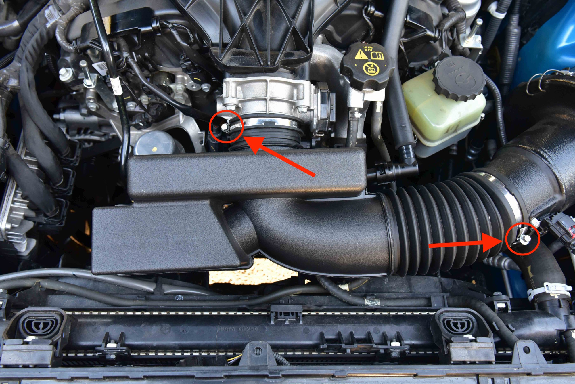 VE Commodore Air Intake