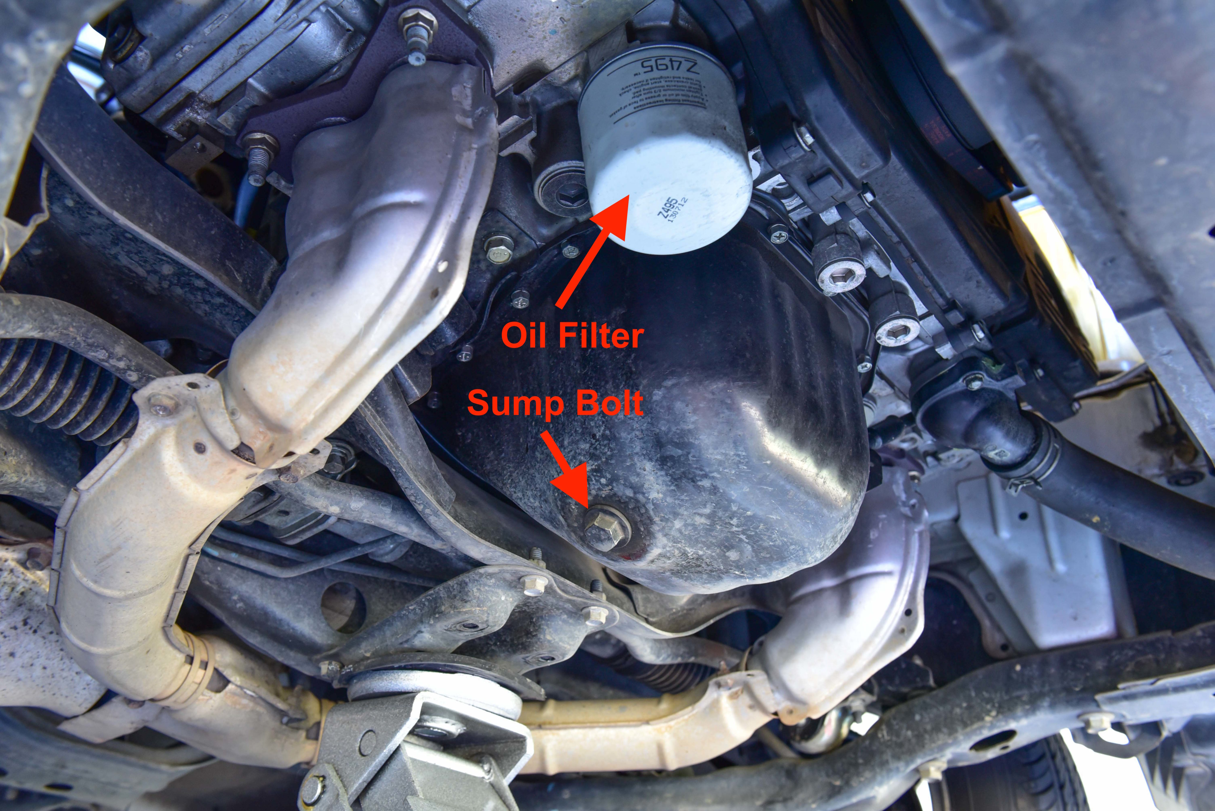 Ej201 Engine Oil Change Subaru Impreza Autoinstruct