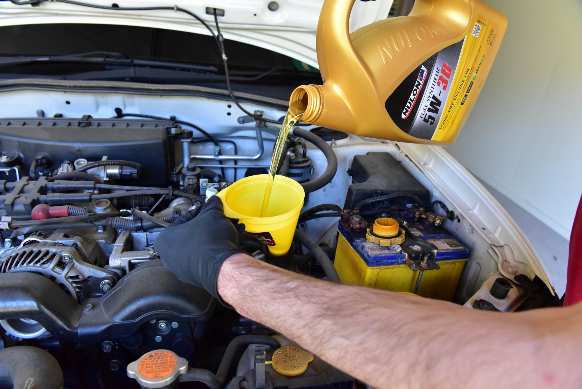 EJ201 Impreza Oil Change