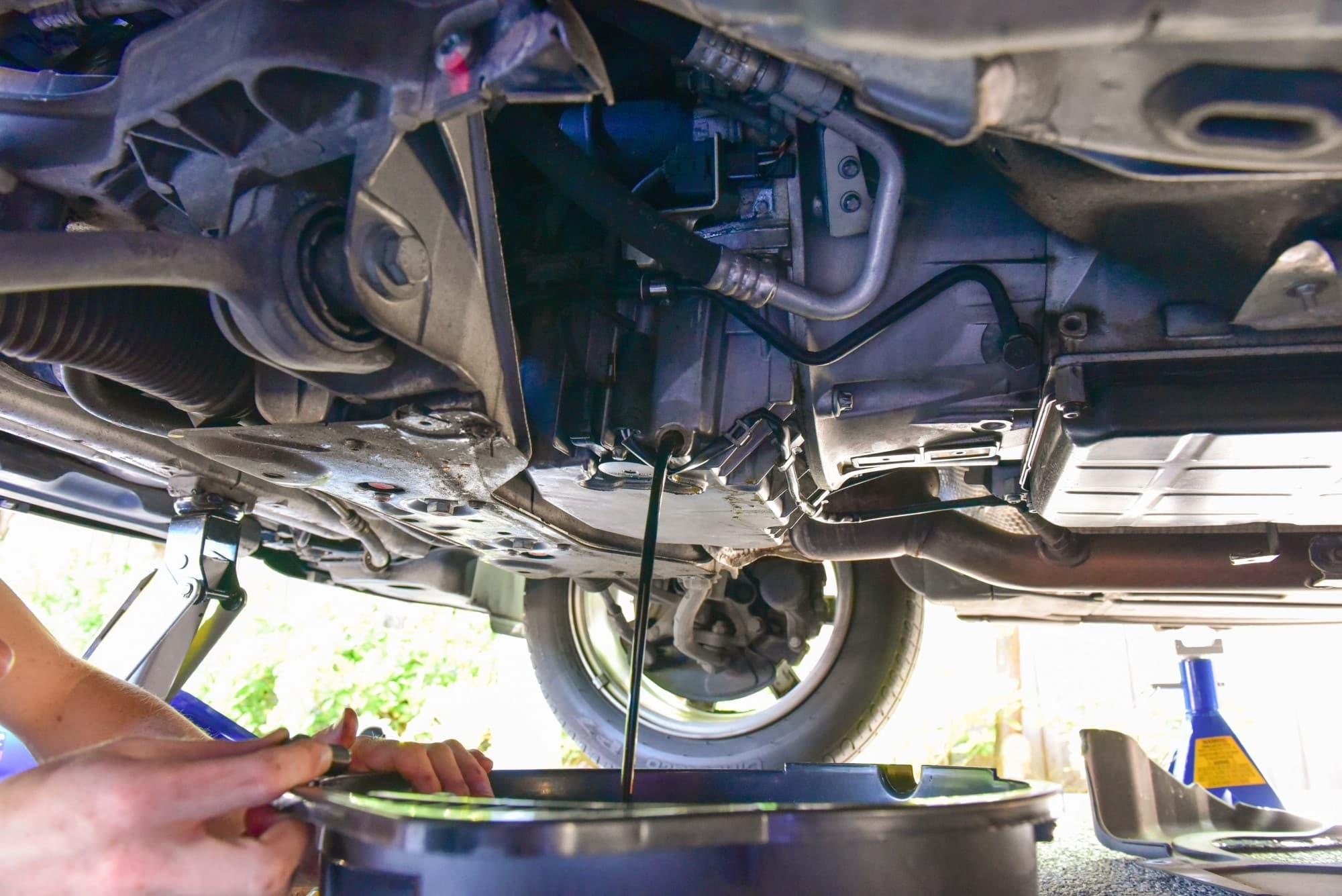 W203 Engine Oil Change