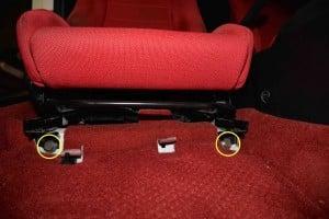 Honda DC5 Seat Removal
