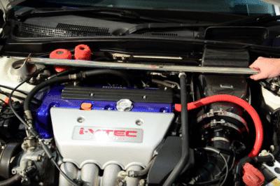 Honda Strut Brace Install