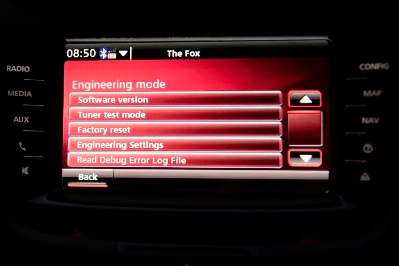 Holden IQ Hidden Engineering Mode