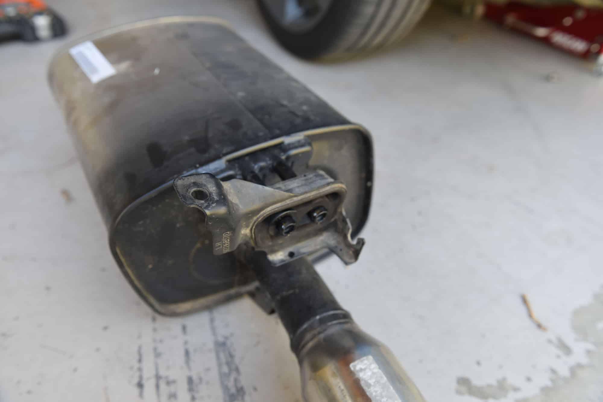 VE Commodore Exhaust Muffler