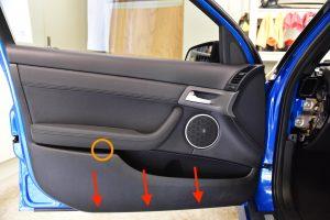 Holden VE Commodore Front Door Trim