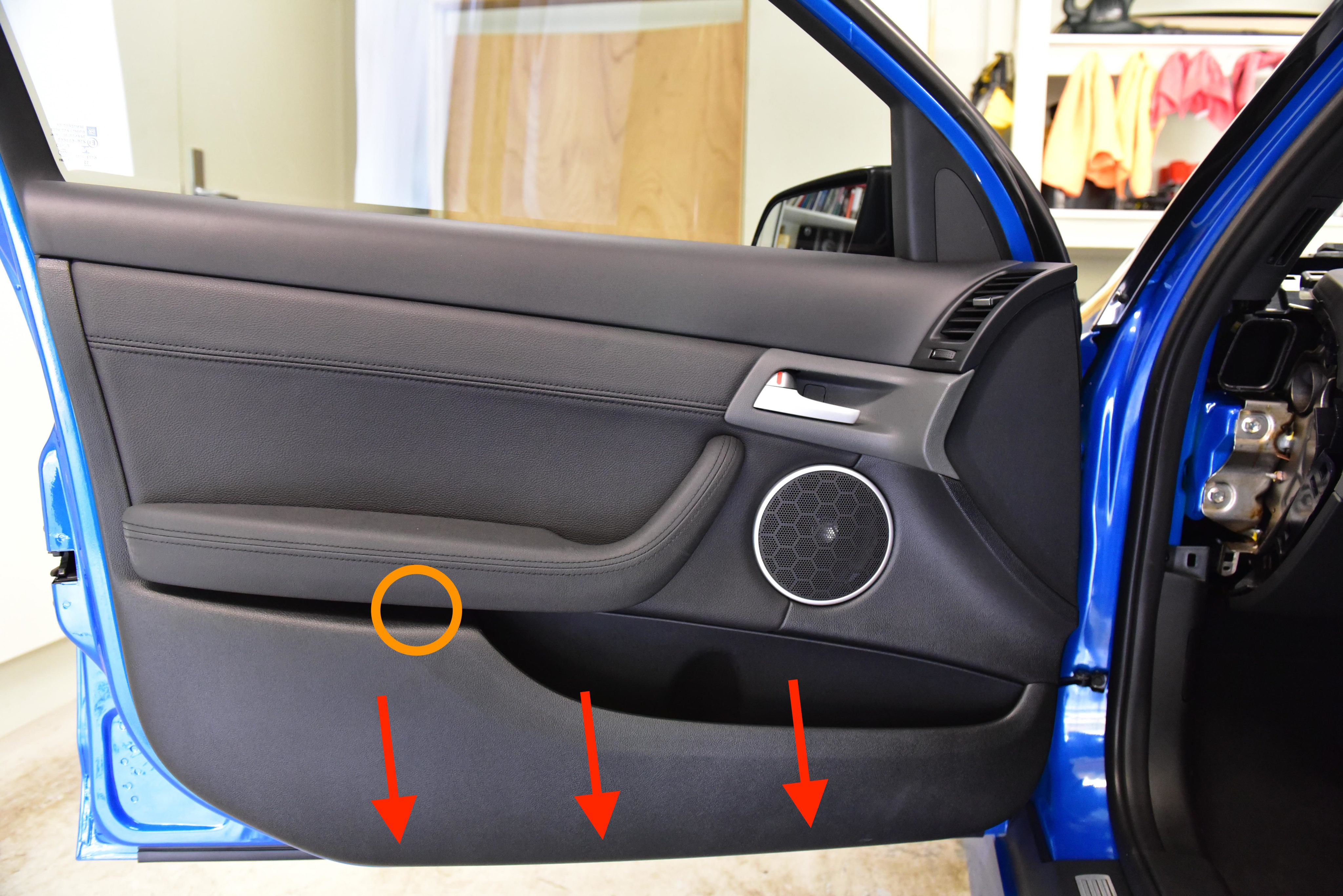 Removing Front Door Trims Ve Commodore Autoinstruct