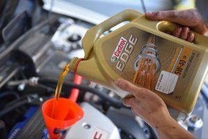 Honda DC5 Oil Change