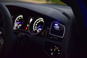 P3 Cars OBD Vent Gauge Install - MK7 Golf R
