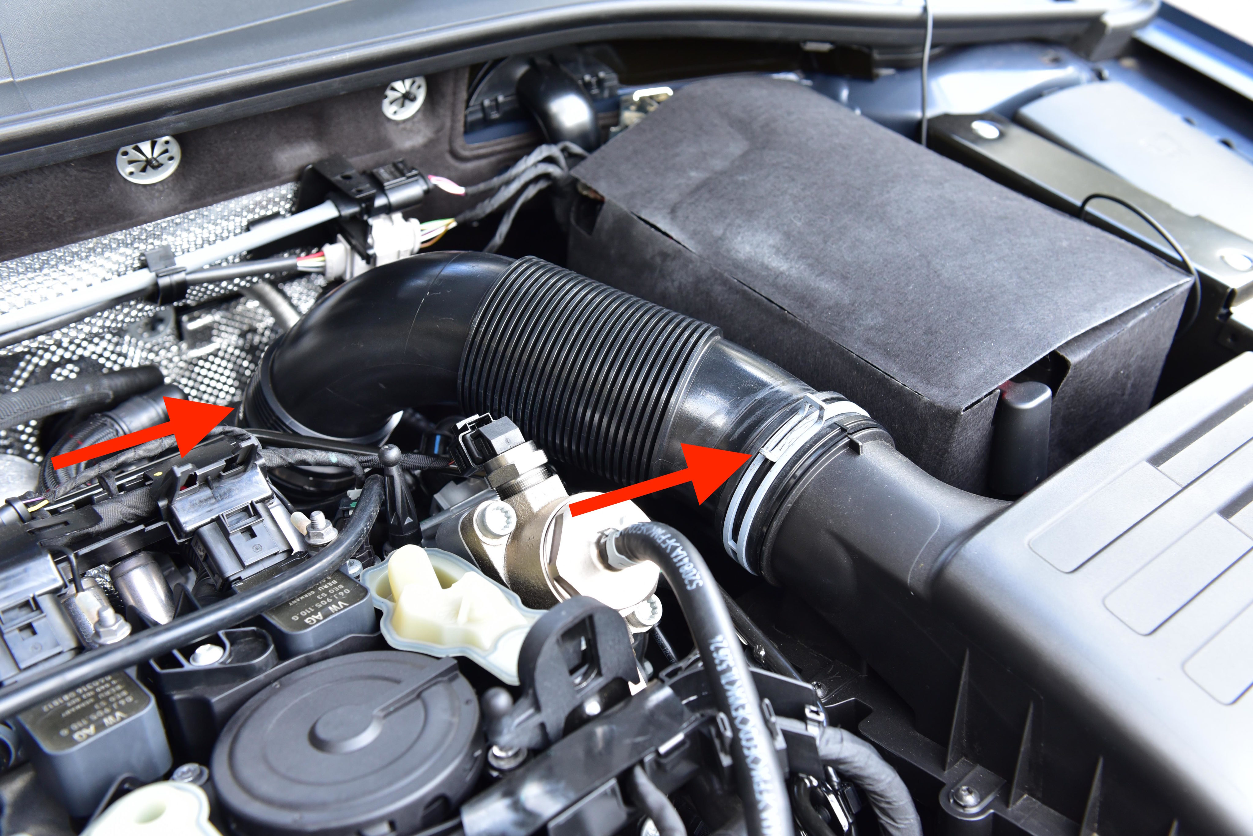 Intake Pipe and Turbo Inlet Removal – MK7 Golf R / GTI EA888