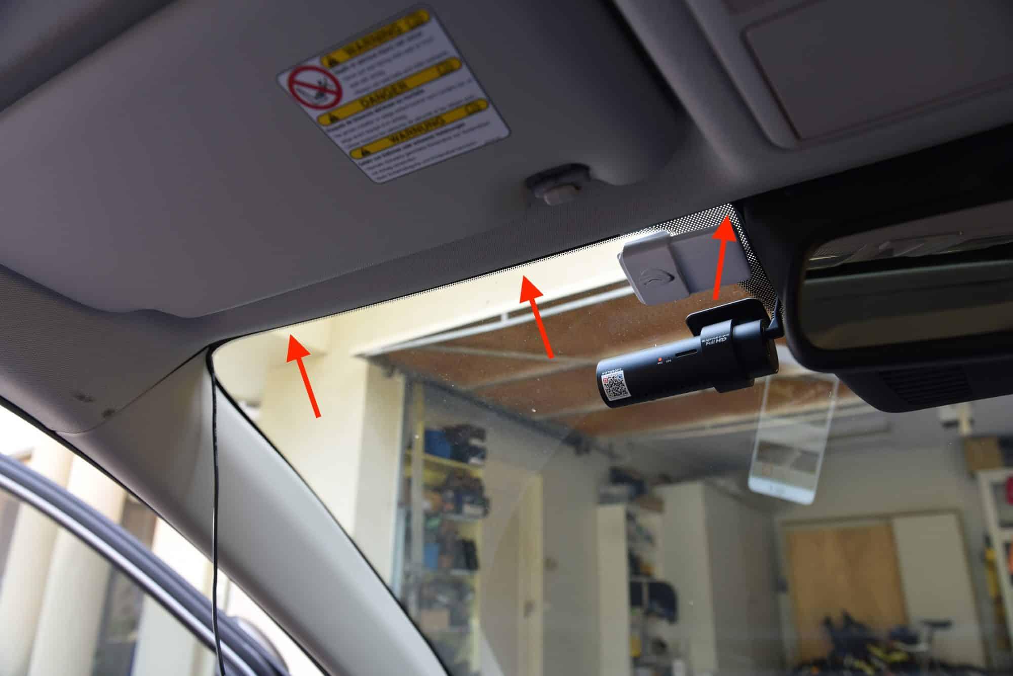 Mazda CX5 Dash Cam Install Tutorial