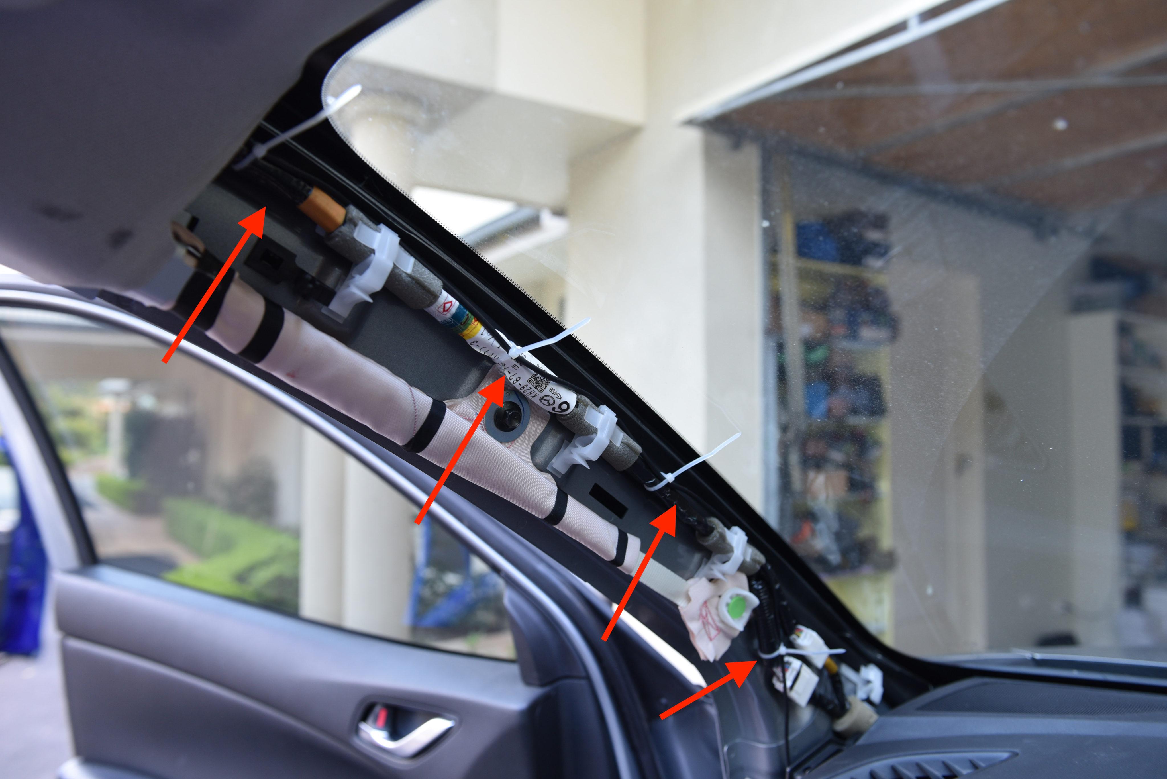 Dash Cam Install Tutorial Mazda Cx 5 Autoinstruct