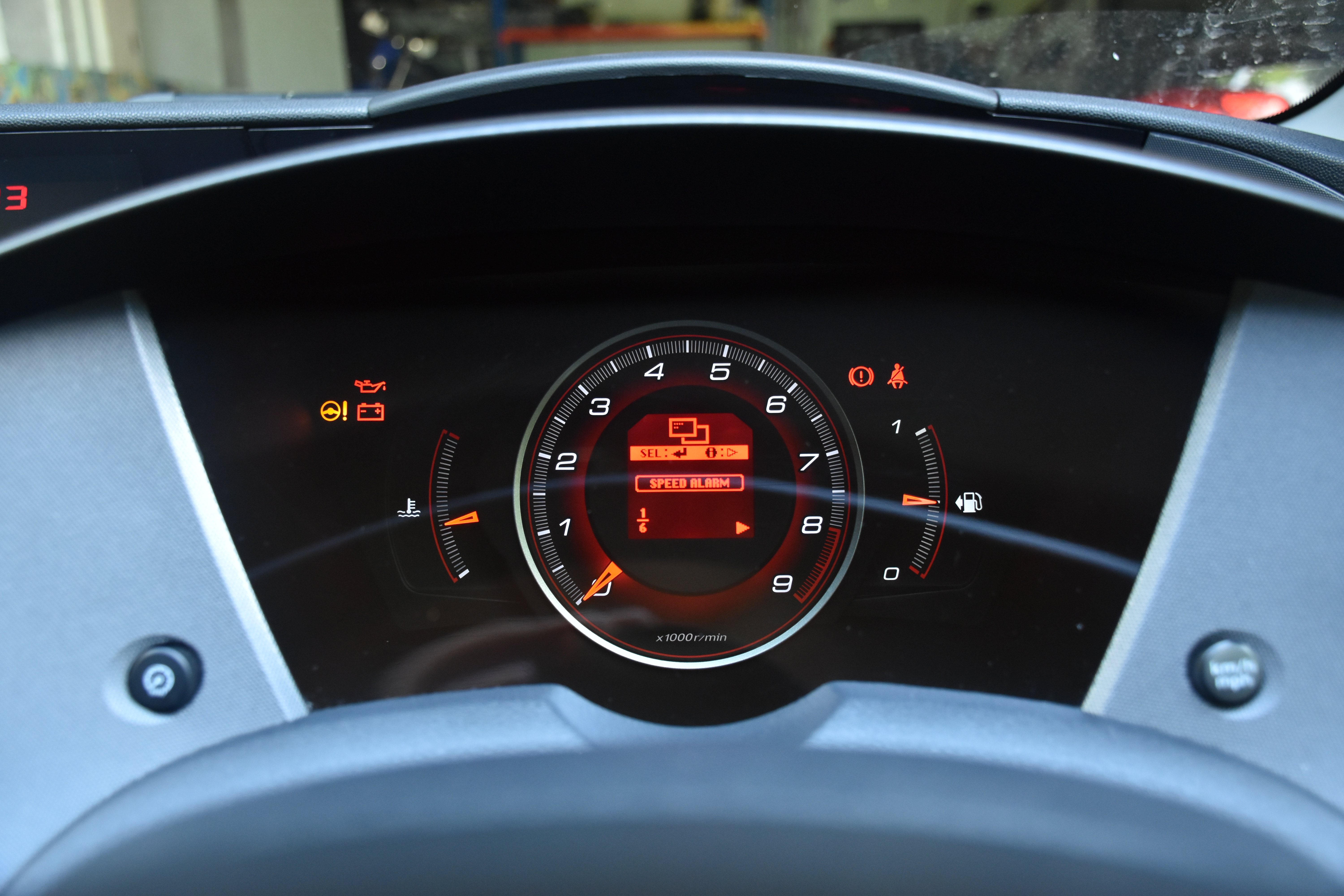 Dashboard menu guide – FN2 Civic – AutoInstruct