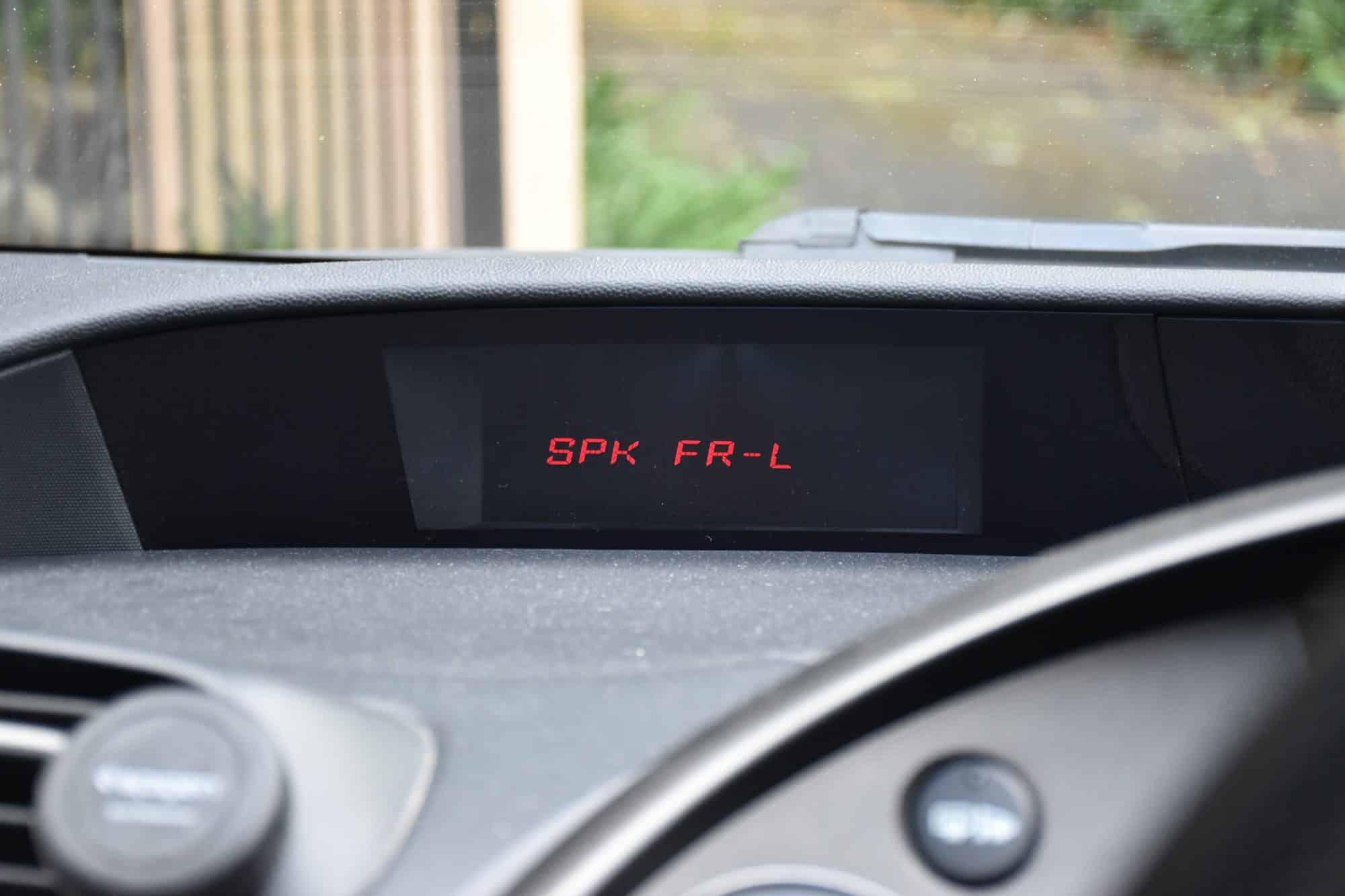 FN2 Speaker Check Mode