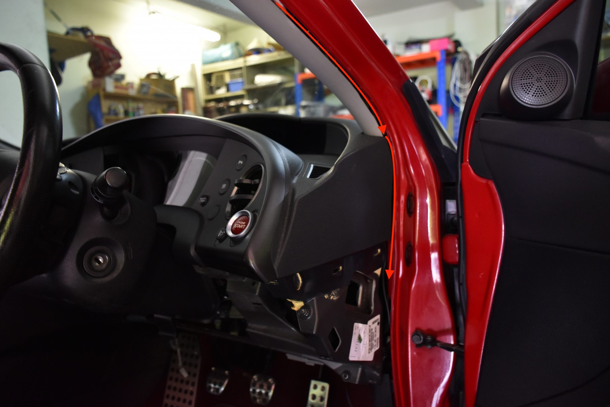 FN Civic Dash Cam Install Tutorial