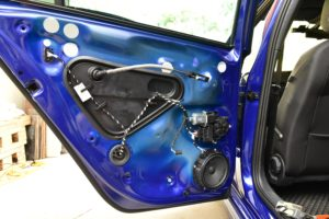 MK7 Golf Rear Door Trim Card Removal