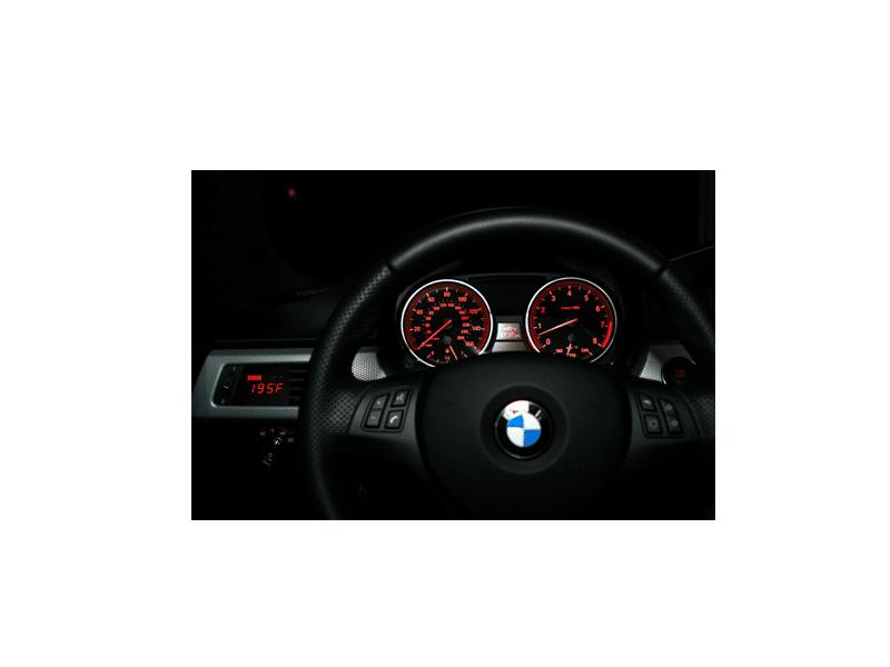 P3 Cars Obd Vent Gauge For Bmw E9x 3 Series Autoinstruct