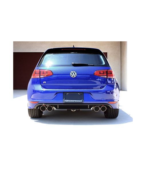 NEUSPEED 80mm Stainless Steel Catback VW Mk7 Golf R