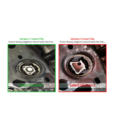 034 motorsport aluminium dogbone mount insert