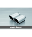 Remus Exhaust Tip – Angled Chrome