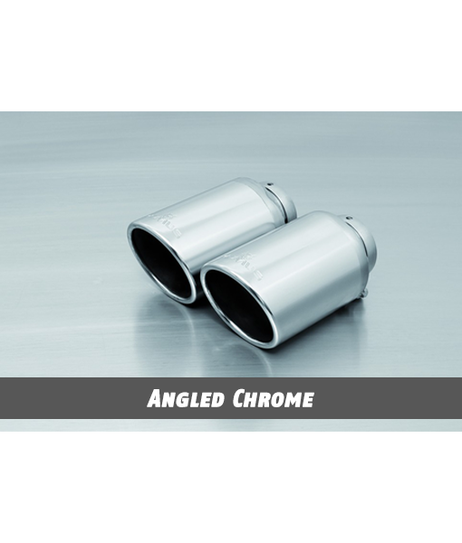 Remus Exhaust Tip - Angled Chrome