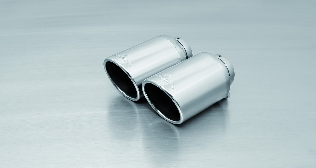 Remus Exhaust Tip - VW Mk7 Golf R - Angled Chrome