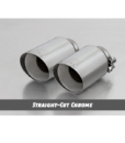 Remus Exhaust Tip – Angled Straight-Cut Chrome