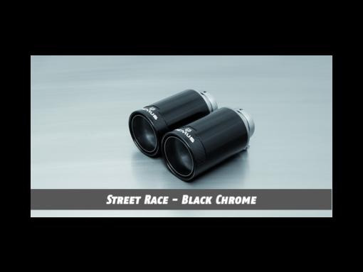 Remus Exhaust Tip - Street-Race Polished Black Chrome