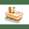 Genuine VAG Service Bundle - Service Kit w/ DSG Filter & Seals