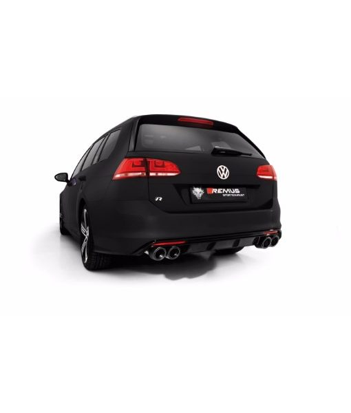 Remus Racing Catback Exhaust - VW Mk7 Golf R Wagon