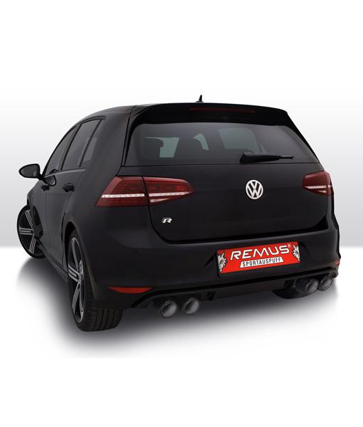 Remus Sport Exhaust - VW Mk7 Golf R