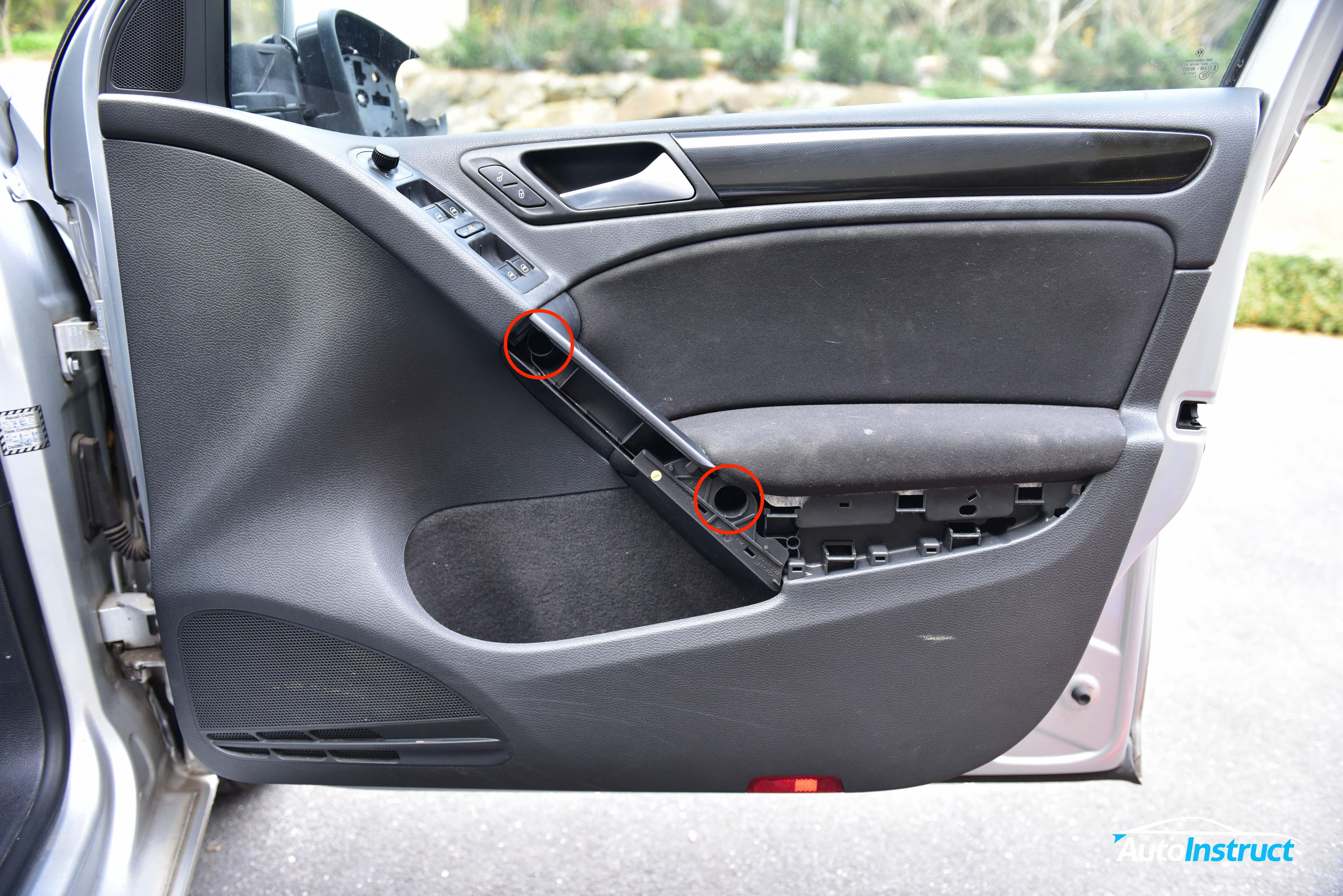 Removing Door Mirror Volkswagen Mk6 Golf Autoinstruct