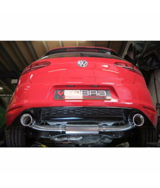 Cobra Sport VW Golf GTI MK7 Cat Back System