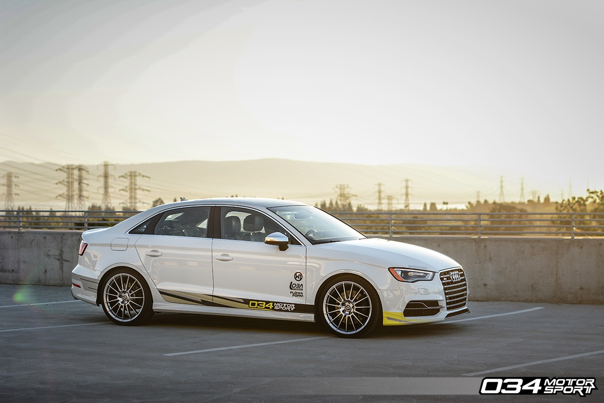 034 Motorsport Dynamic+ Lowering Springs - Audi 8V S3/A3 Quattro