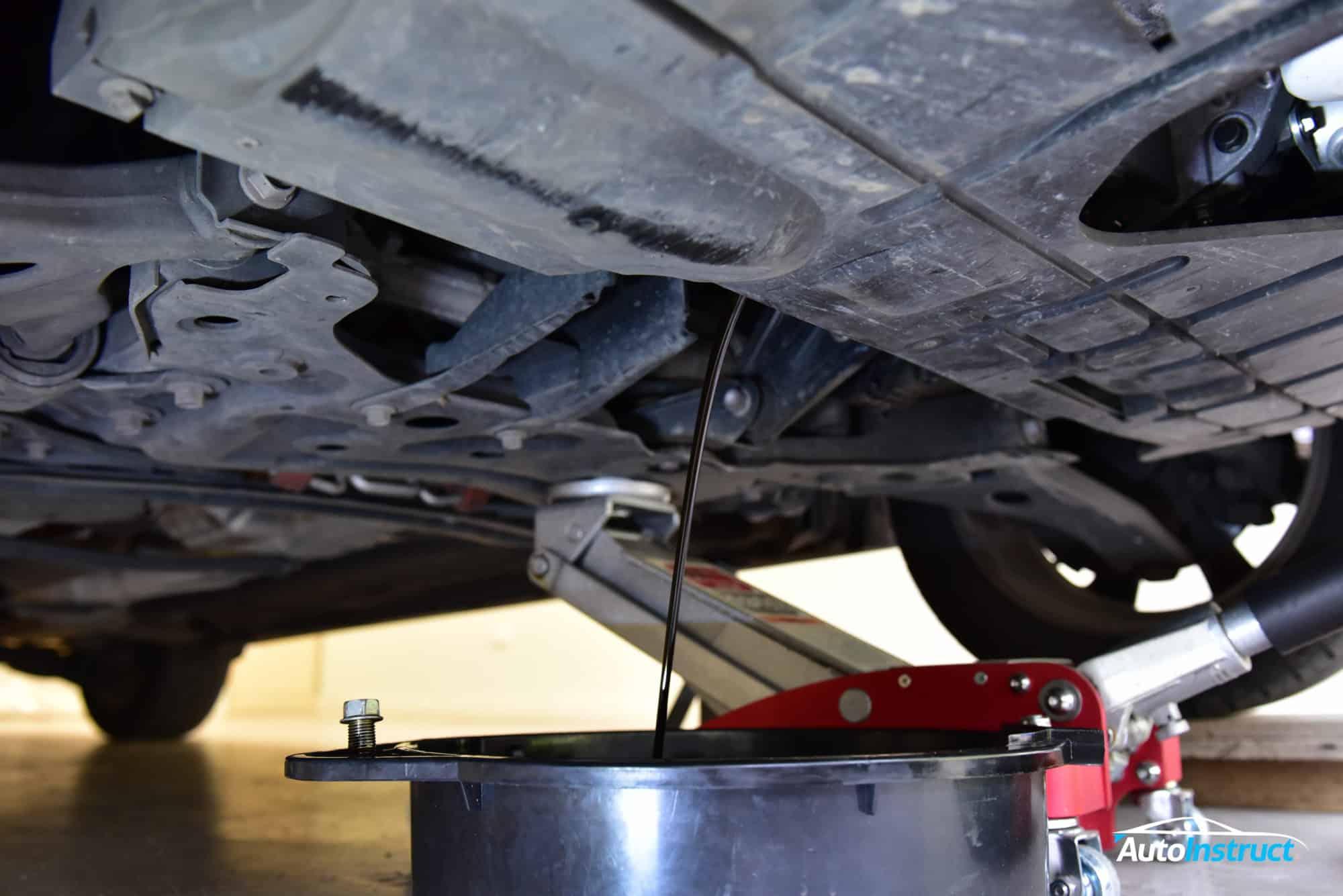 Mazda 3 BL Oil Change