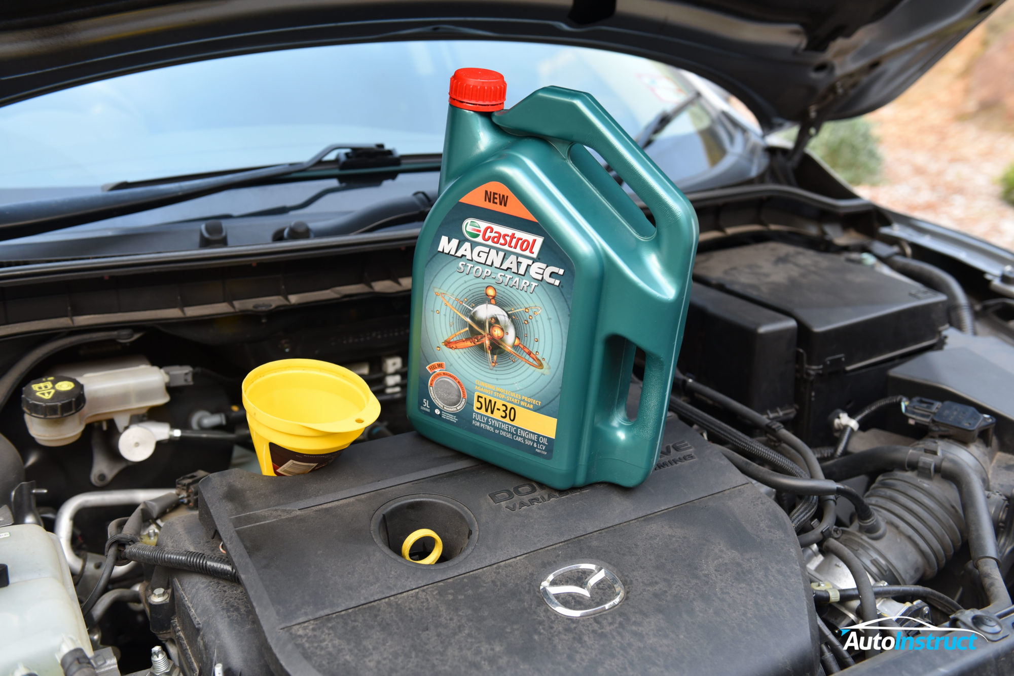 engine oil change mazda 3 bl autoinstruct
