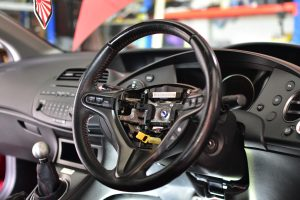 Honda Civic FN2 Steering Wheel Removal