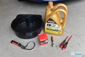 Mazda CX5 Diesel Engine Oil Change