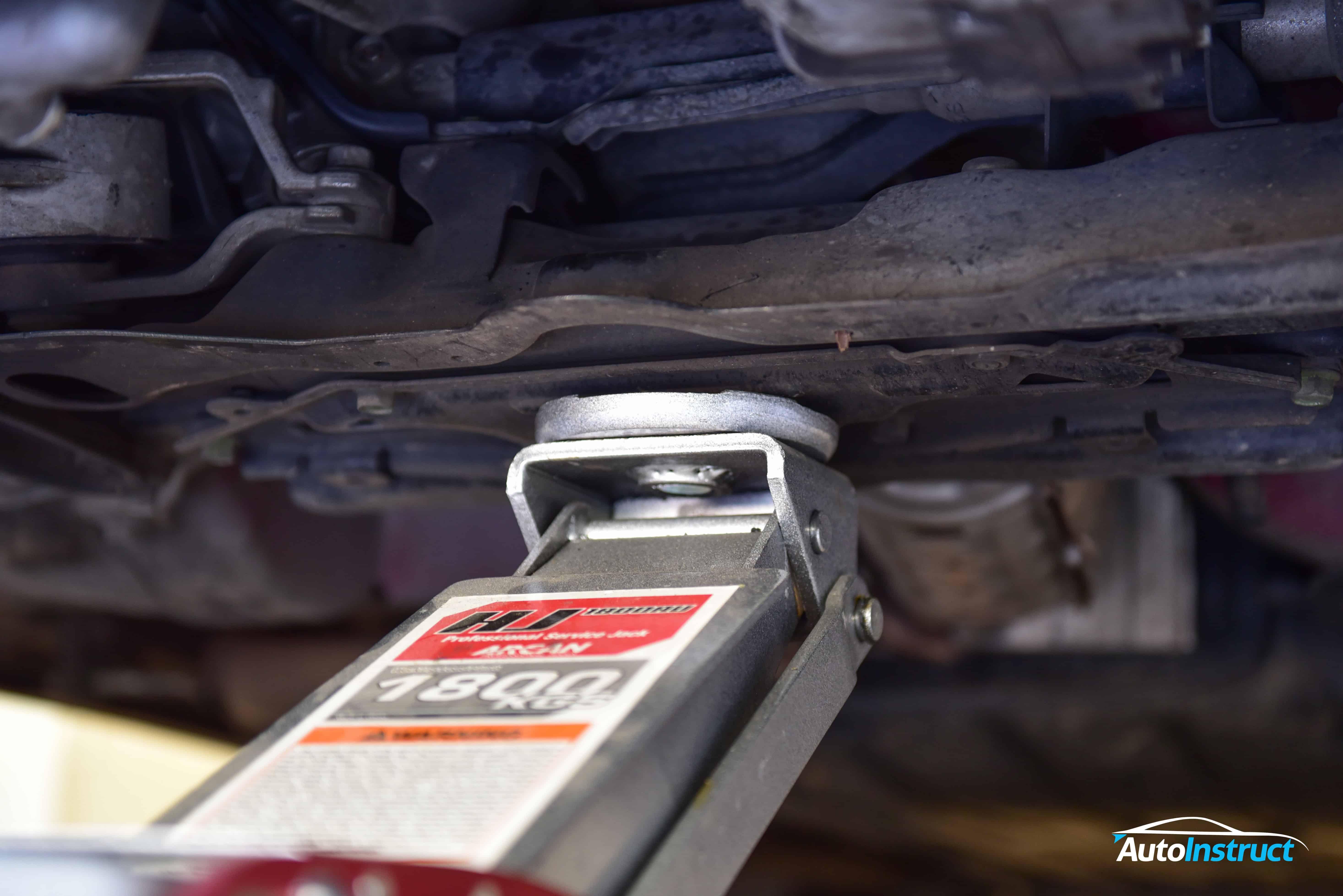 Honda Civic (FN) Jacking Points