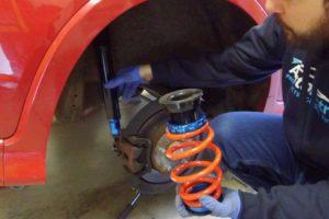 Honda Civic FN Suspension