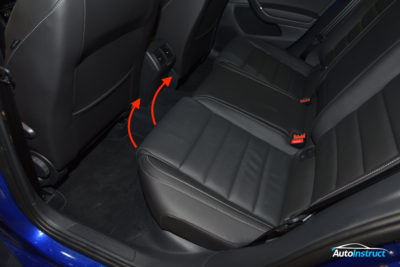 MK7 Golf Rear Seat Removal