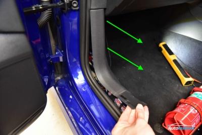 MK7 Gold Sill Panel Trim Removal