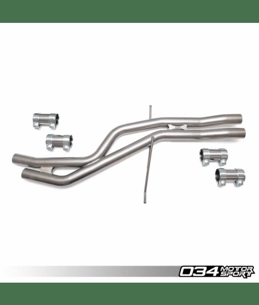 034Motorsport Res-X Resonator Delete - Audi B8/B8.5