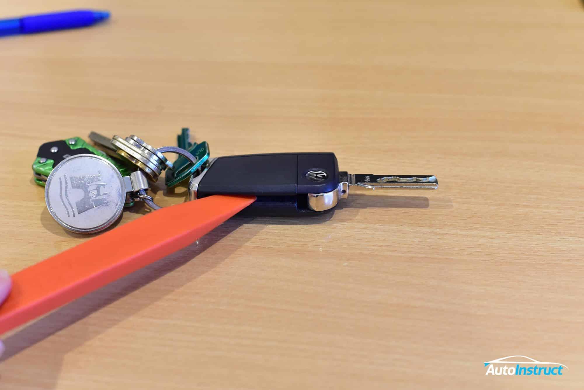 Changing MK7 Golf / MQB Remote Key Battery