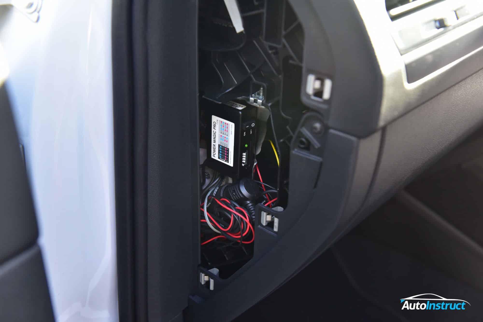 MK2 Tiguan Dash Cam Install