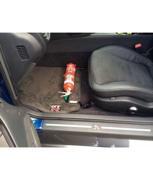 KAP Industries Fire Extinguisher Bracket - Nissan GT-R R35