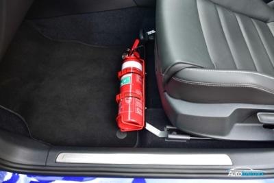 KAP Industries Fire Extinguisher Bracket Install
