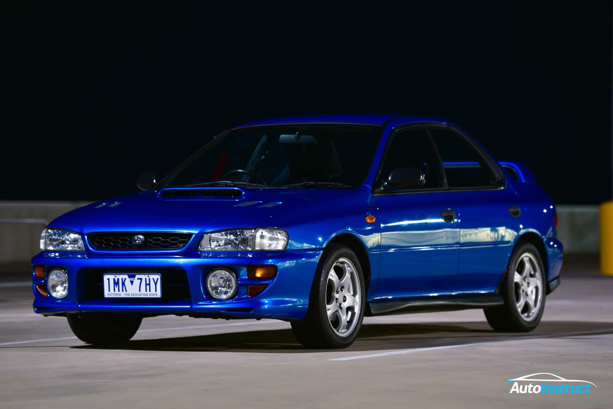 GC8 Subaru Impreza WRX