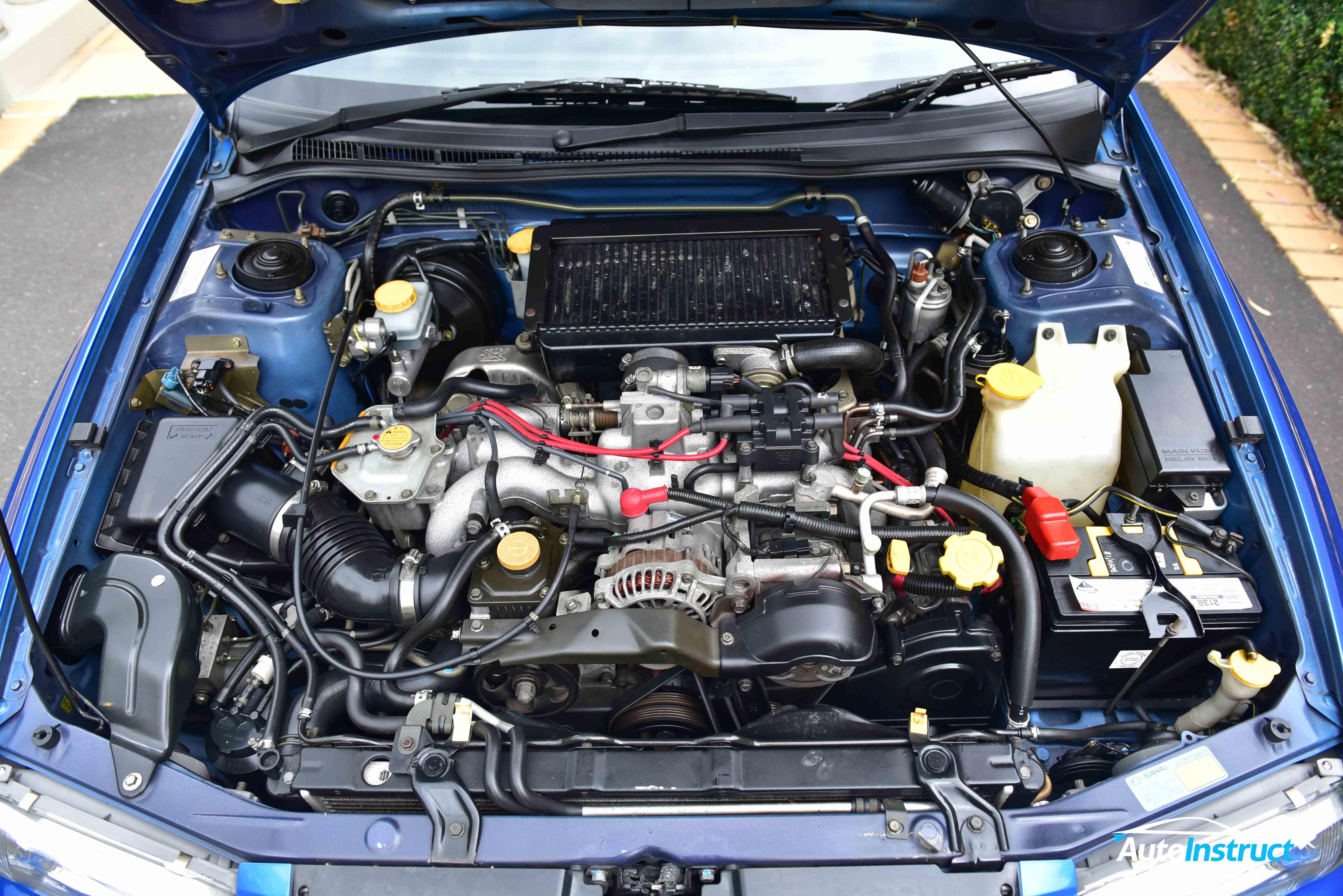 GC8 Subaru Impreza WRX Underbody