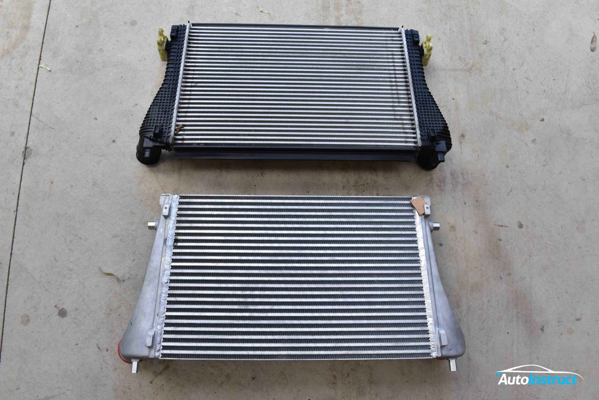 MK7 Golf Intercooler Install CTS